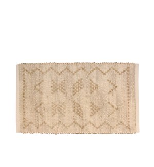 Oasis Accent Rug W. Seagrass White