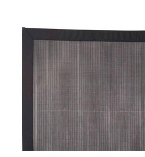 Linea Vinyl Floor Mat Black