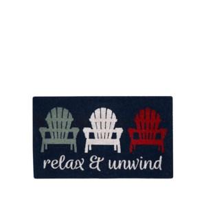 Relax and Unwind Coir Mat Multi