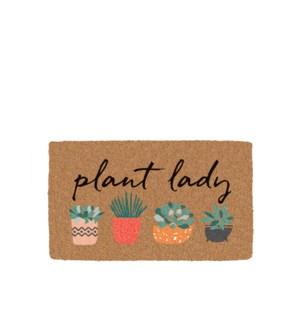 Plant Lady Coir Mat Multi