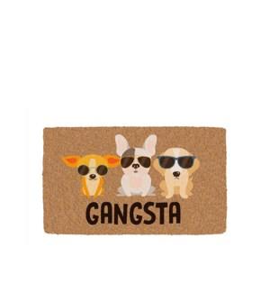 Gangsta Printed Coir Mat Multi