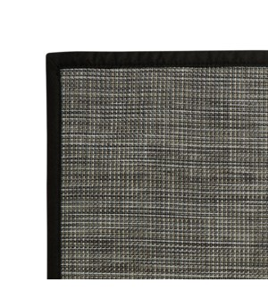 Rio Vinyl Floor Mat Black 30 x 50