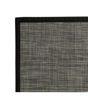 Rio Vinyl Floor Mat Black 48 x 72