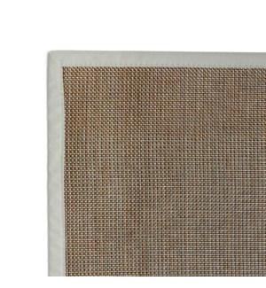 Rio Vinyl Floor Mat Metallic 20 x 34