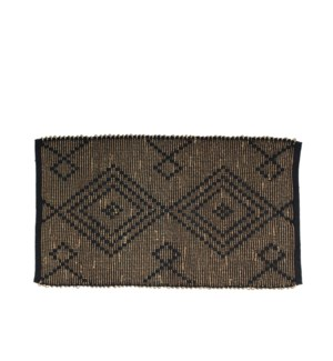 Sanctuary Accent Rug W. Seagrass Black