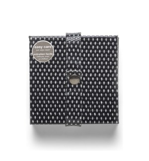 Diamonds Coasters Set Of 6 Black