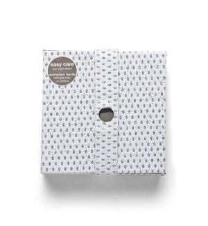 Diamonds Coasters Set Of 6 White