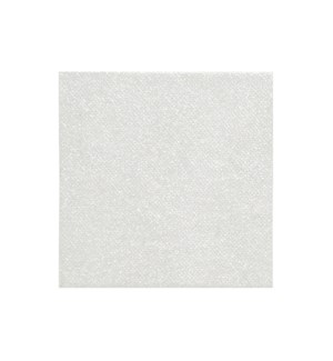 Frosted Glitter Coaster Set of 4 White