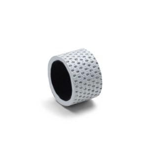 Diamond Napkin Ring Set Of 4 White