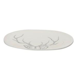 Antler Serving Platter Large Grey