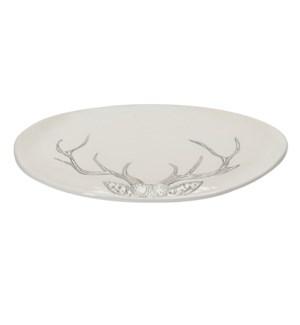 Antler Servng Platter Small Grey