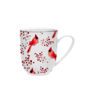 Cardinal Coupe Mug Red