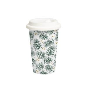 Fern Travel Mug Green