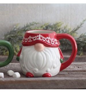 Gnome Novelty Mug Red