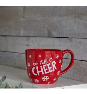 Mug O Cheer Red