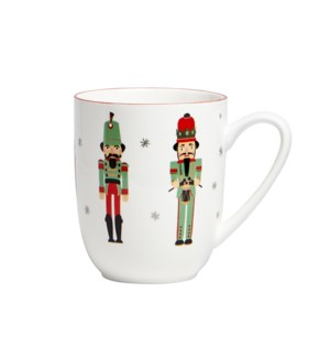 Nutcracker Couple Mug Red