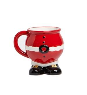 Santa Shaped Mug Multi