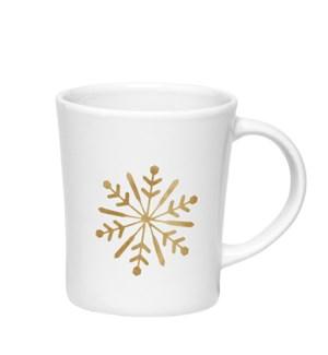 Snowflake Mug Gold