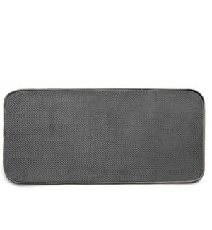 Luxe Plush Boot Shoe Drying Mat Charcoal