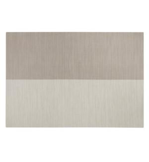 Divide Vinyl Placemat Linen/White