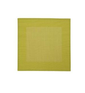 Border Vinyl Placemat Green
