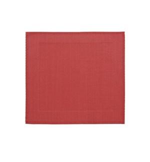 Border Vinyl Placemat Red