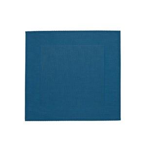 Border Vinyl Placemat Blue