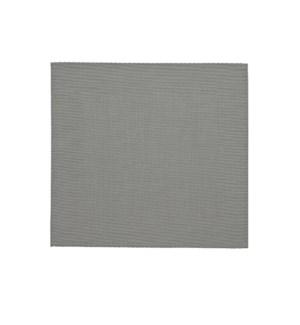 Border Vinyl Placemat Grey