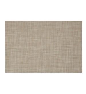 Linen Vinyl Placemat Tan