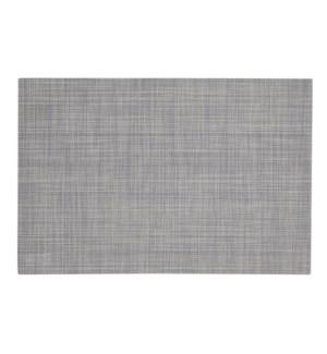 Linen Vinyl Placemat Grey