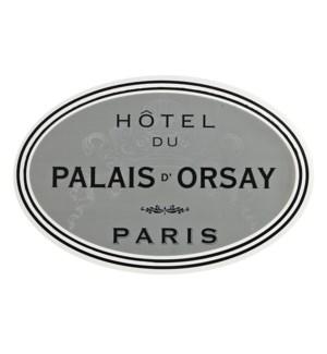 Hotel du Paris Soft Touch Placemat Grey