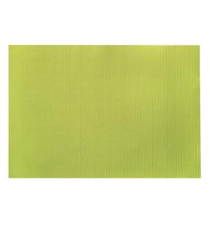 Linnea Rib Vinyl Placemat Green