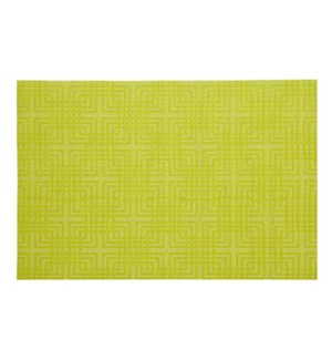 Knox Vinyl Placemat Green