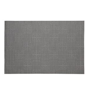 Knox Vinyl Placemat Grey