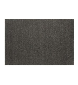 Luxe Shimmer Vinyl Placemat Black