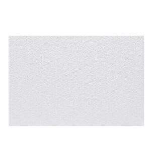 Luxe Shimmer Vinyl Placemat White
