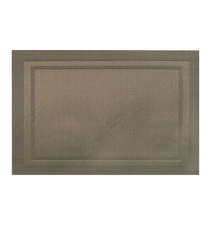 Lustre Rectangle Placemat Champagne