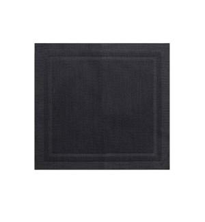 Lustre Square Placemat Black