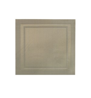 Lustre Square Placemat Champagne