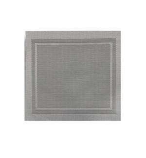 Lustre Square Placemat Silver
