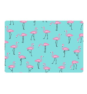 Flamingo Soft Touch Placemat Pink