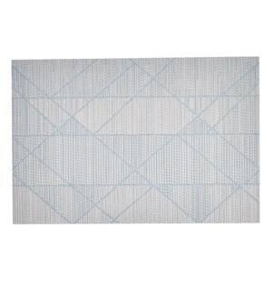 Plata Vinyl Placemat Aqua
