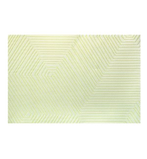 Metro Vinyl Placemat Apple Green