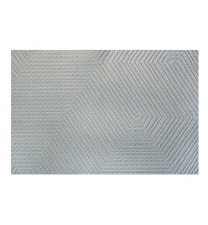 Metro Vinyl Placemat Grey
