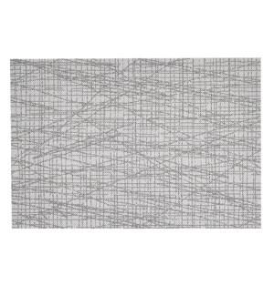 Scratch Vinyl Placemat Charcoal