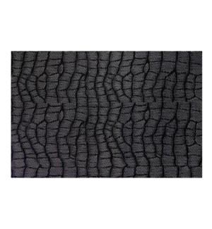 Jacquard Snake Placemat Black
