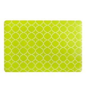 Panama Tile Soft Touch Placemat Green