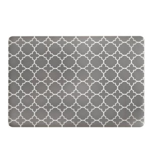 Panama Tile Soft Touch Placemat Grey