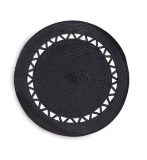 Roman Placemat Black