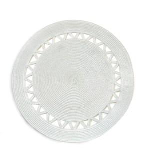 Roman Placemat  White